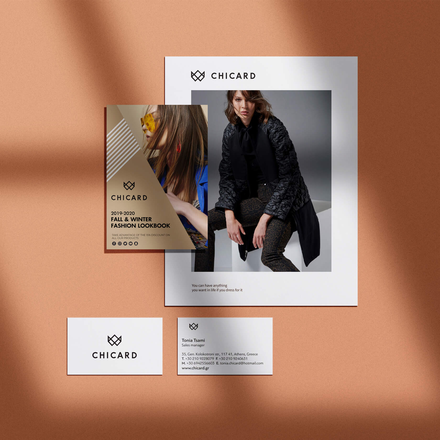 chicard wome's fashion corporate id
