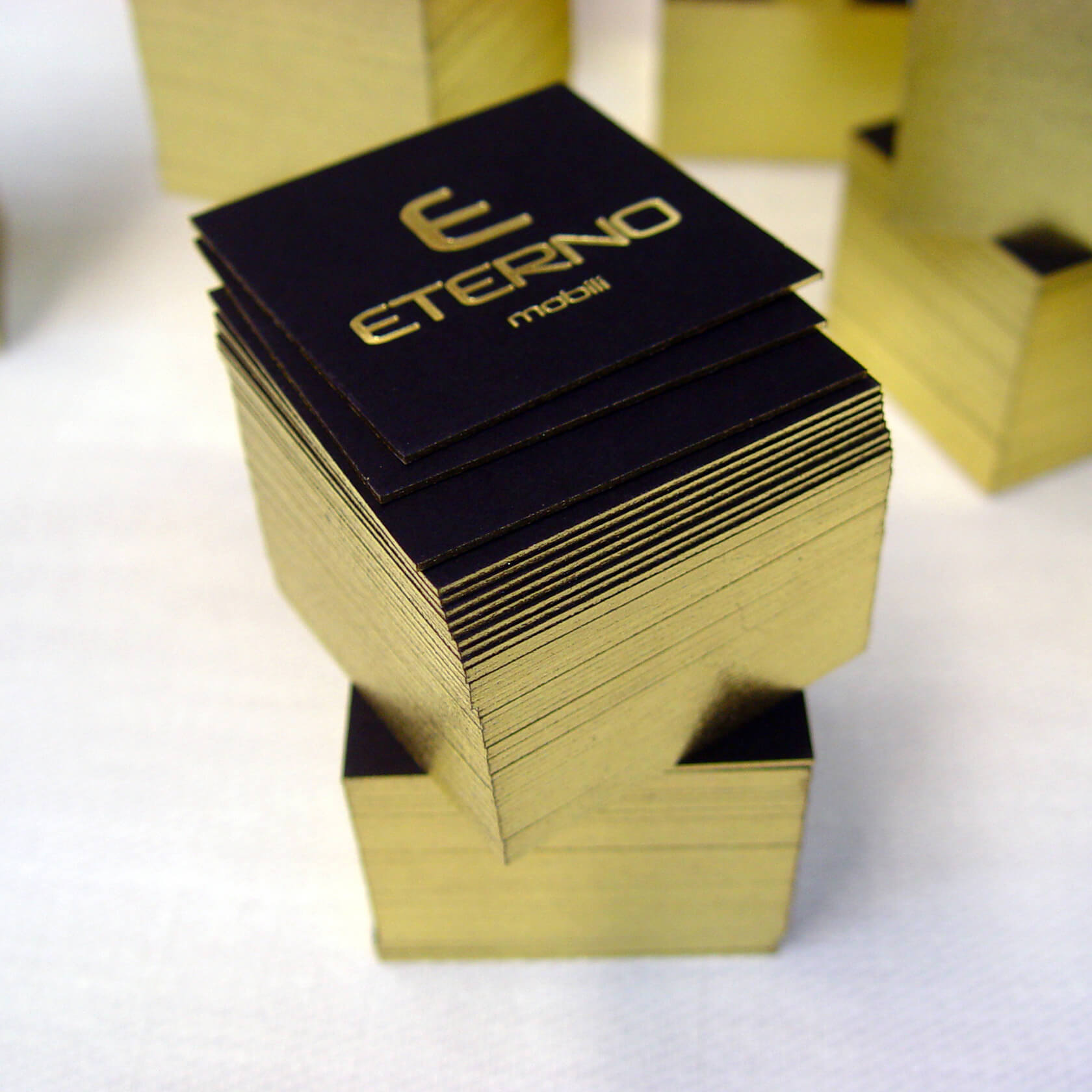 Eterno mobili golden edge cards