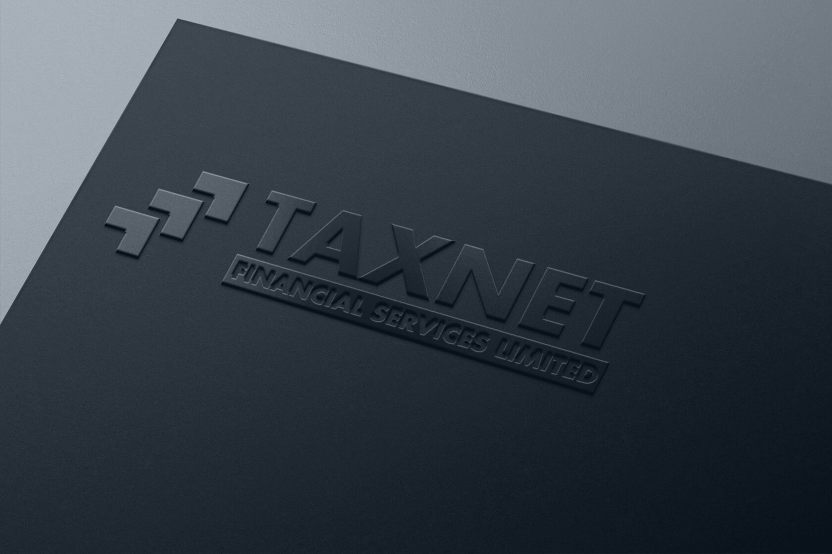 Taxnet Financial services logo folder