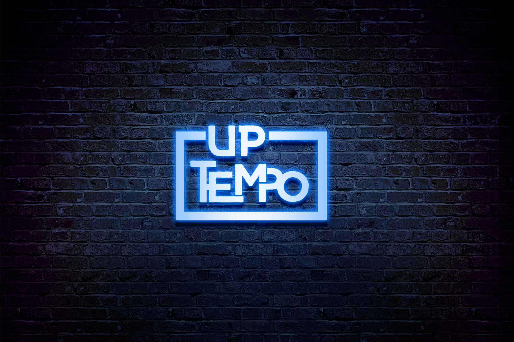 Up tempo light logo